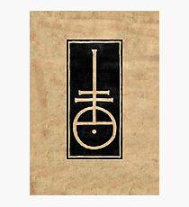 Nicolas Jenson's Typographer Mark Photographic Print