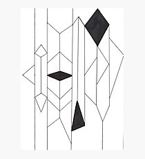 Geo- Linear Collection Photographic Print