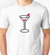 Martini cocktail glass T-Shirt