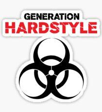 Generation Hardstyle Music Quote Sticker