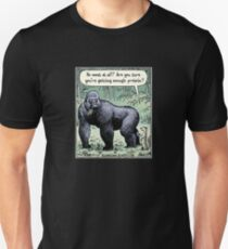 Are you sure you're getting enough protein? Unisex T-Shirt