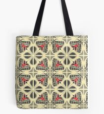 Harnessed Tiger Moth Tile  Tote Bag