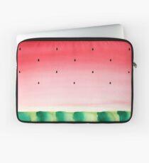 Watermelon watercolor Laptop Sleeve