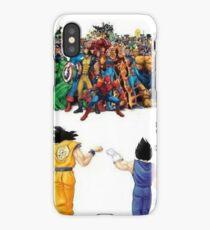 DBZ | Super heroes  iPhone Case/Skin