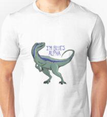 I'm Blue's Alpha Unisex T-Shirt