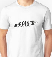 The Evolution of Karate T-Shirt