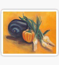 Eat Your Vegetables Sticker