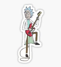rick jam Sticker