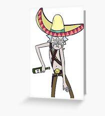 Rick sombrero Greeting Card