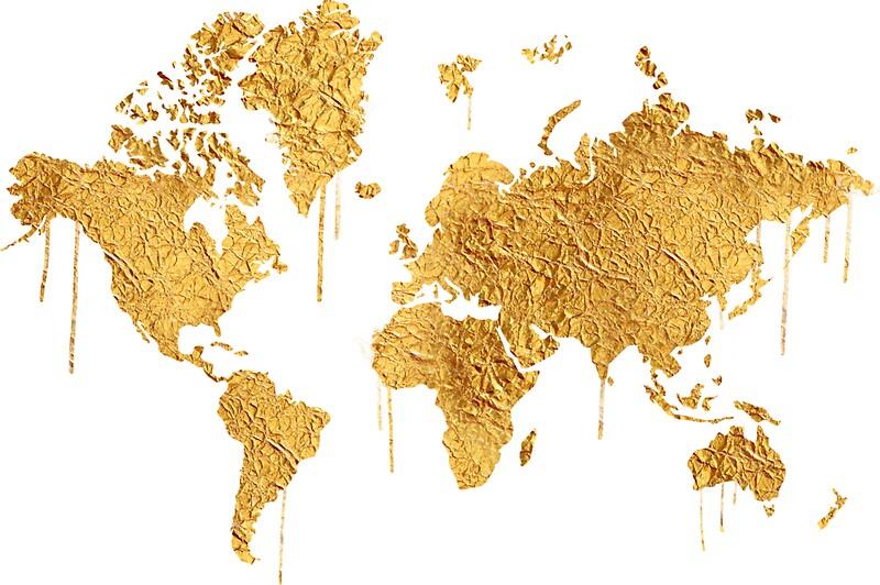 wallpaper world map gold - photo #11