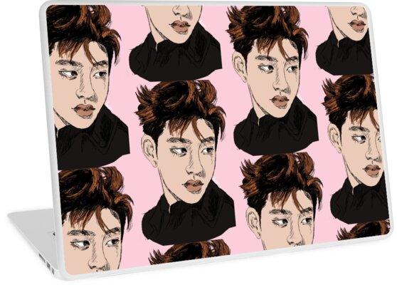 Do Kyungsoo Exo Abbildung Zeichnung Laptop Skins Von