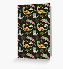 Eat Your Veggies in Brights Greeting Card