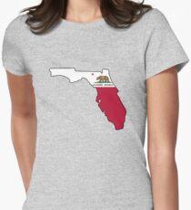 California flag Florida outline T-Shirt
