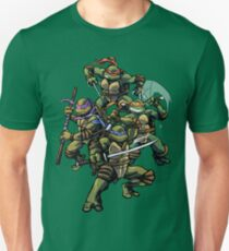 Turtle Power (textless) T-Shirt