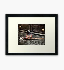 Glass Quill Framed Print