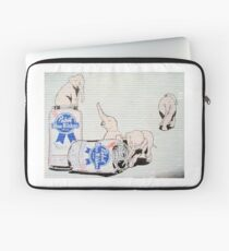 Pink Elephants Make You Think! Laptop Sleeve