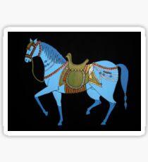 Mughal Horse Sticker