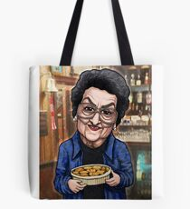 Betty Williams Turpin Hotpot Cleaning lady Mop Tote Bag