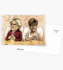 Ken and Deirdre Barlow Postcards