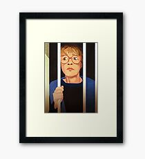 Deirdre Barlow Free the Wetherfield one Framed Print