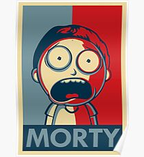 Morty Face Poster