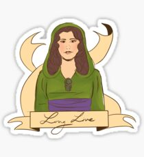 long live the queen Sticker