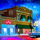 Musical Ghosts - Night Outside of Sun Studio in Memphis Tennessee by Mark Tisdale