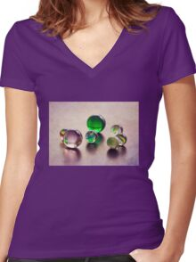 Childhood Jewels II Women's Fitted V-Neck T-Shirt