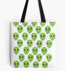 Peridot Alien Boxers Tote Bag