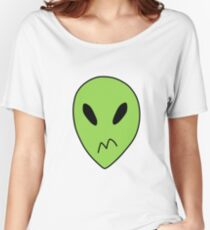 Peridot Alien Boxers Women's Relaxed Fit T-Shirt