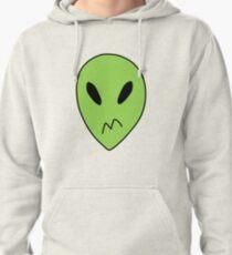 Peridot Alien Boxers Pullover Hoodie