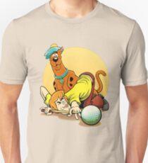 Scooby Doo and Shaggy Billiard T-Shirt