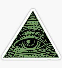iluminati confirmed Sticker
