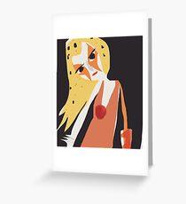 Cheetara Thundercats Greeting Card