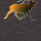 Elk Spirit by DerGrafiker