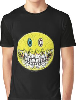 Zombie Smiley Graphic T-Shirt