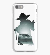 Yoda Silhouette iPhone Case/Skin