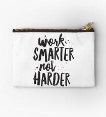 Arbeit intelligenter, nicht härter, inspirierende Angebot, motivierende Zitat, Typografie Zitat Kunst Studio Clutch