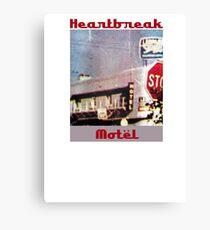 Heartbreak Motel Canvas Print