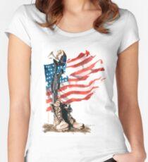 Fallen Women's Fitted Scoop T-Shirt