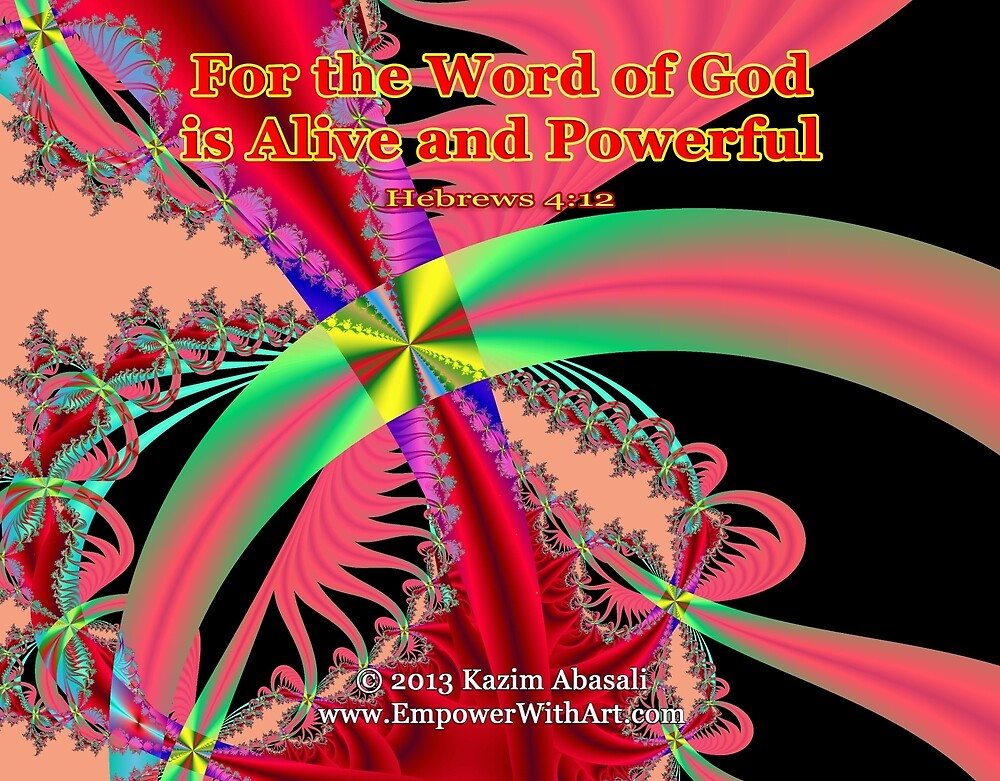 The Word Of God by empowerwithart