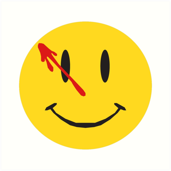 "Watchmen Logo"" Art Print by mattmagargee 