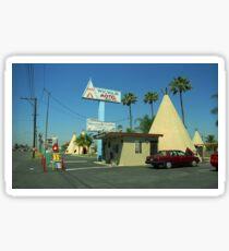 Route 66 - Wigwam Motel Sticker