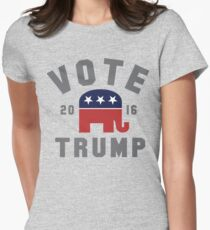 Vote Trump Shirt - Donald Trump for President 2016 T Shirt Women's Fitted T-Shirt