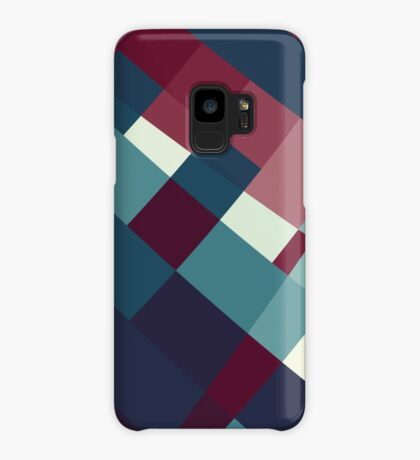 Windows Abstract Squares Red Blue White Case/Skin for Samsung Galaxy