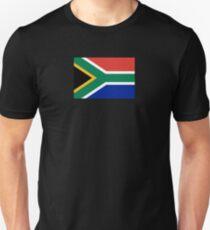 South Africa Flag - African Rugby Springboks, Sticker Duvet Bedspread T-Shirt Slim Fit T-Shirt