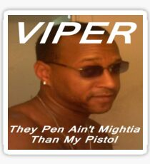 Viper the rapper Sticker