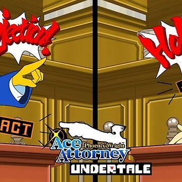Undertale X Ace Attorney by DJNightmar3