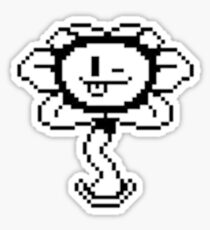 Winking Flowey - Undertale Sticker