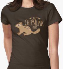 Crazy Chipmunk lady T-Shirt